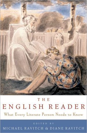 The English Reader: What Every Literate Person Needs to Know book written by Michael Ravitch