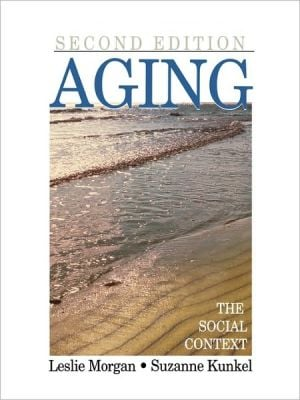 Aging book written by Leslie A. Morgan