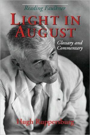Reading Faulkner book written by Hugh M. Ruppersburg