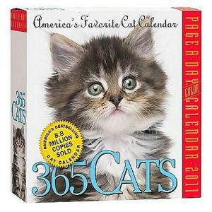 2011 365 Cats Page-A-Day book written by Workman Publishing