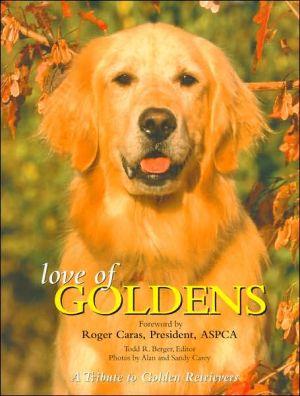 Love of Goldens book written by Todd Berger