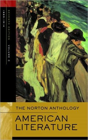 The Norton Anthology of American Literature: Volume C: 1865-1914 book written by Arnold Krupat