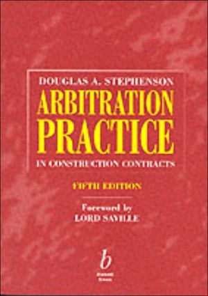 Arbitration Practice In Constr book written by Stephenson