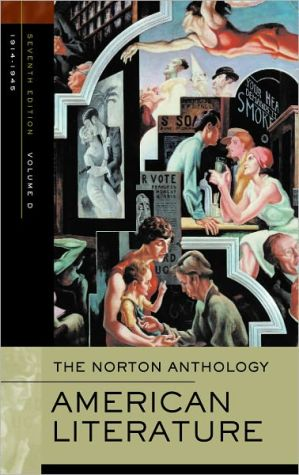 The Norton Anthology of American Literature: Volume D: 1914-1945 written by Jerome Klinkowitz