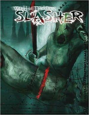 WoD Slasher book written by Chuck Wendig