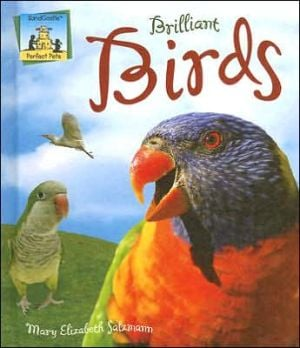 Brilliant Birds book written by MaryElizabeth Salzmann