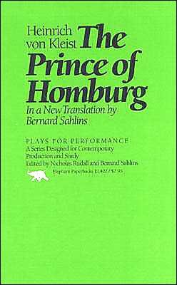 Prince of Homburg book written by Heinrich von Kleist