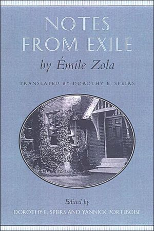 Notes from Exile book written by Emile Zola