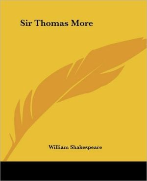 Sir Thomas More book written by Anthony Munday