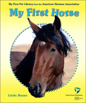 My First Horse book written by Linda Bozzo