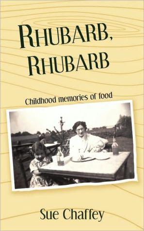 Rhubarb, Rhubarb book written by Sue Chaffey