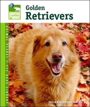 Golden Retrievers book written by Sheila Webster Boneham