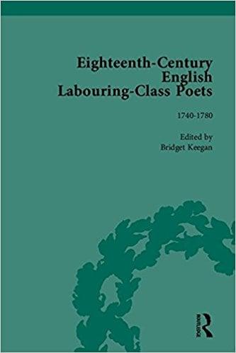 Eighteenth Century Labouring Class Poets book written by John Goodridge