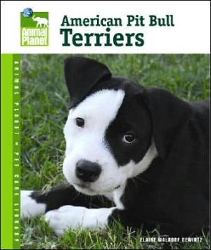 American Pit Bull Terriers book written by Elaine Waldorf Gewirtz