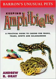 Keeping Amphibians book written by Andrew R. Gray