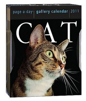 2011 Cat Page-A-Day Gallery Calendars book written by Workman Publishing