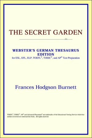 The Secret Garden book written by ICON Reference