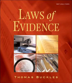 Laws of Evidence book written by Thomas Buckles