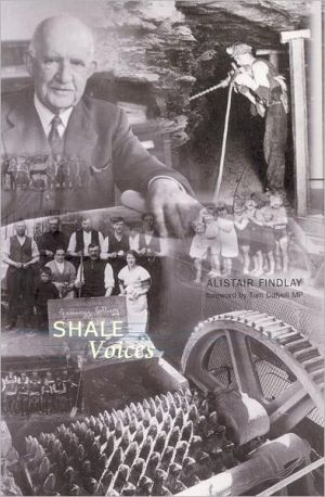 Shale Voices book written by Alistair Findlay