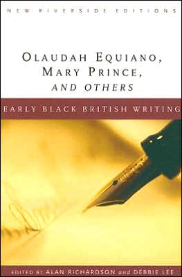 Early Black British Writing book written by Olaudah Equiano