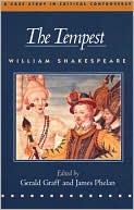 The Tempest book written by William Shakespeare