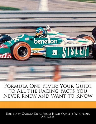 Formula One Fever written by Calista King