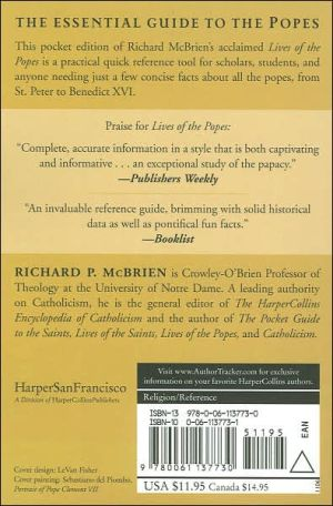 Pocket Guide to the Popes book written by Richard P. Mcbrien