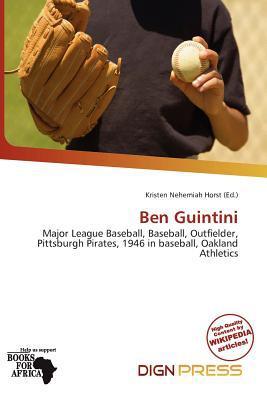 Ben Guintini written by Kristen Nehemiah Horst