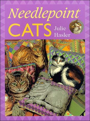 Needlepoint Cats book written by Julie Hasler