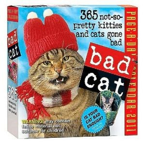 2011 Bad Cat book written by Workman Publishing