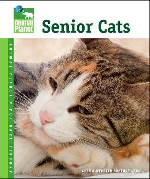 Senior Cats book written by Sheila Webster Boneham