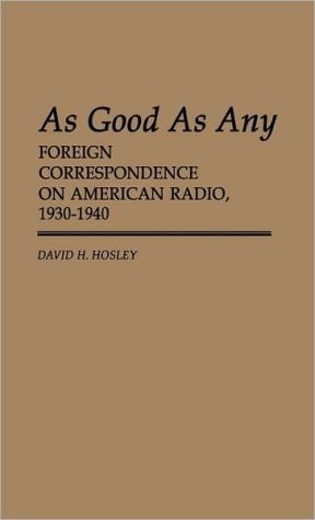 As good as any written by D.H. Hosley