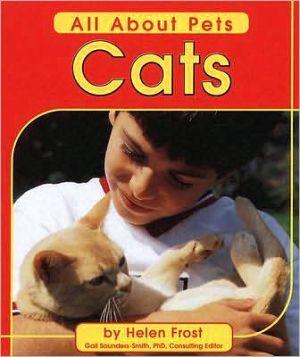 Cats book written by Helen Frost