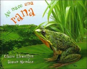 Así nace una rana book written by Claire Llewellyn