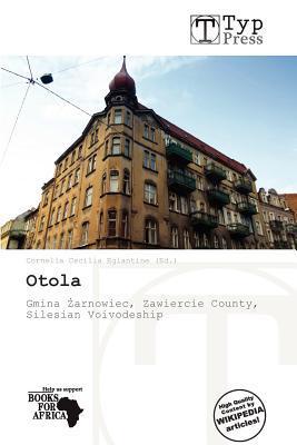 Otola written by Cornelia Cecilia Eglantine