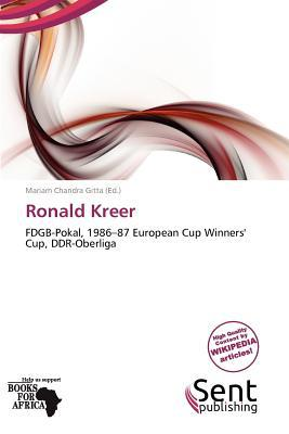 Ronald Kreer written by Mariam Chandra Gitta