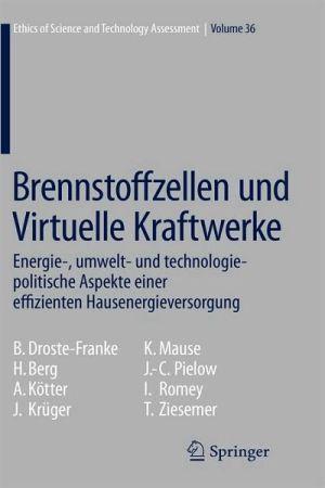 Brennstoffzellen Und Virtuelle Kraftwerke: Energie-, Umwelt- Und Technologiepolitische Aspekte Einer Effizienten Hausenergieversorgung written by Droste-Franke Bert