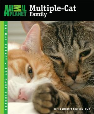 The Multiple-Cat Family book written by Sheila Webster Boneham