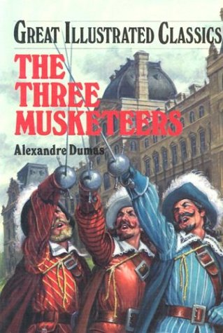 Three Musketeers book written by Alexandre Dumas