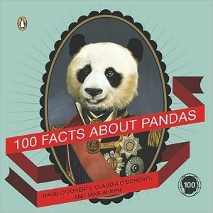 100 Facts about Pandas book written by David O'Doherty