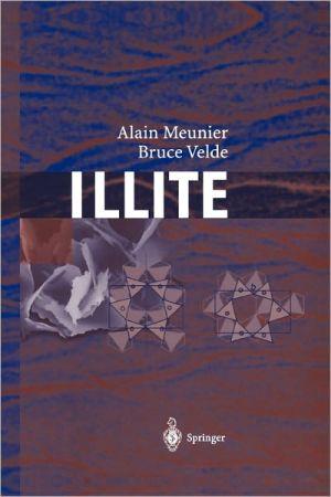 Illite: Origins, Evolution and Metamorphism written by Meunier, Alain , Velde, Bruce D.