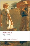 My Antonia book written by Willa Cather