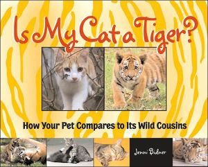 Is My Cat a Tiger? : How Your Cat Compares to Its Wild Cousins book written by Jenni Bidner