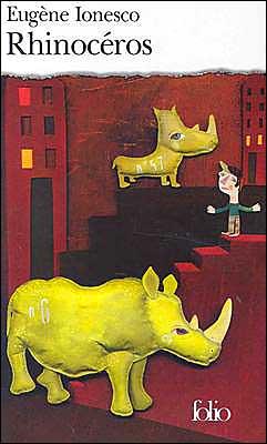 Rhinoceros book written by Eugene Ionesco