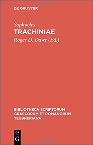 Trachiniae book written by Roger D. Sophocles