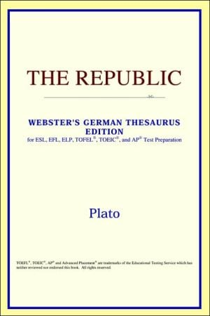 The Republic book written by ICON Reference
