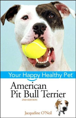 American Pit Bull Terrier book written by Liz Palika