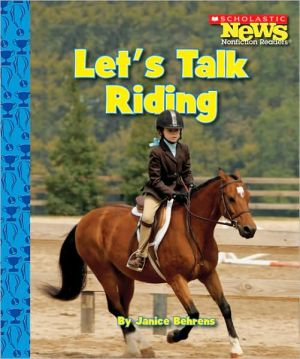 Let's Talk Riding book written by Janice Behrens