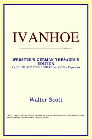 Ivanhoe book written by ICON Reference