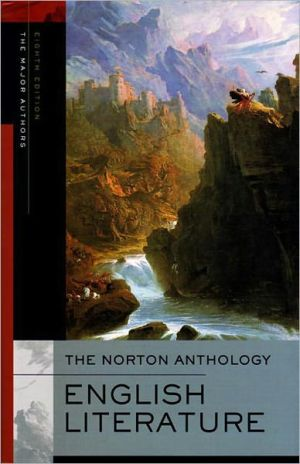 The Norton anthology of English literature book written by Stephen Abrams